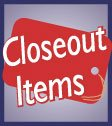 Closeout Items-Sale Items- Clearance
