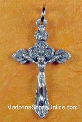 Our Deluxe Rosary Crucifixes are known for the most beautiful intricate designs Rosary parts Made in Italy Largest selection of inexpensive Rosary supplies on the web Silver and Gold Base metal silver oxidized nickel silver sterling silver