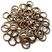 Jump Ring COPPER 7mm x 1.0mm Bulk Packed $2.50/100pcs