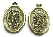 "As Low As $0.49 Each BRONZE St Michael/Guardian Angel Medal oval 1"" Saint Michael"