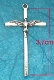 Holy Spirit Cross 3.7 x 2.2cm with Antique Silver Finish
