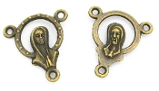 Halo Praying Madonna/SHJ Centerpieces 1.7cm Bronze Finish