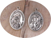 Sorrows Mater Dolorosa Ecce Homo Our Lady of Sorrows Charm 1""