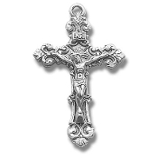 Crucifixes-Sterling Silver