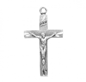 Rosary parts to make rosaries crucifixes rosary making supplies Gleaming Crucifix in Sterling Silver