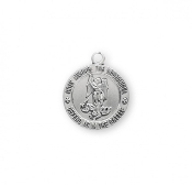 Saint Michael Sterling Silver Medal