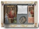 """Cathedral"" Edition 6 Piece Deluxe Communion Gift Set Includes: Deluxe Missal, Deluxe Rosary, Leatherette Rosary Case, Bookmark, Scapular and Pin.LITTLE CHILD OF GOD ""CATHEDRAL"" HALLMARK EDITION Girl"