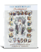 ROSARY BOOK Mysteries of the Rosary, 32 pages Bonella artwork