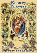 Rosary Prayers Twenty Mysteries are illustrated in full color Bonella artwork