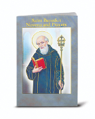 "SAINT BENEDICT NOVENA BOOK 24 pages Beautifully Illustrated....3.75"" x 6"" Beautifully Illustrated Novena Books of Prayer & Devotion.. Each Novena Book has 24 pages of Fratelli-Bonella Artwork"