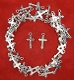 Our Deluxe Rosary Crucifixes are known for the most beautiful intricate designs Rosary parts Antique Silver Finish Crucifix Cross Small Bracelet Size Parts