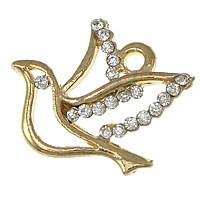 Holy Spirit with 20 Rhinestones Gold finish 1.5 x 1.5cm